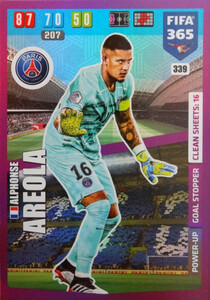 2020 FIFA 365 POWER UP GOAL STOPPER  Alphonse Areola #339