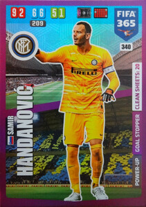 2020 FIFA 365 POWER UP GOAL STOPPER  Samir Handanovic #340