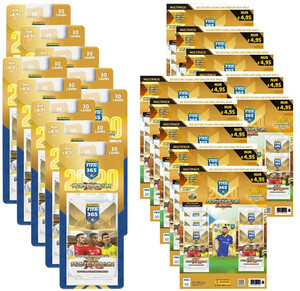 10 x MULTIPACK + 10 x BLISTER FIFA 365 2020