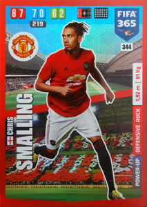 2020 FIFA 365 POWER UP DEFENSIVE Chris Smalling #344