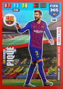 2020 FIFA 365 POWER UP DEFENSIVE Gerard Piqué #345