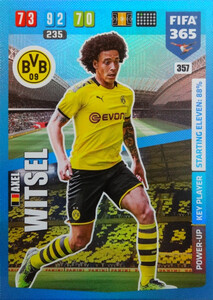 2020 FIFA 365 POWER UP KEY PLAYERS Axel Witsel #357