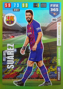 2020 FIFA 365 POWER UP GAME CHANGERS Luis Suárez #363