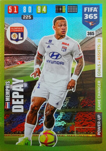2020 FIFA 365 POWER UP GAME CHANGERS Memphis Depay #365