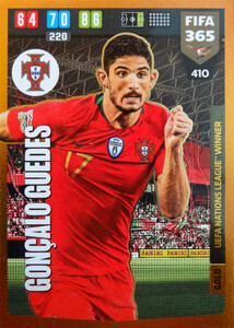 FIFA 365 2020 GOLD UEFA Nations League WINNER Goncalo Guedes #410