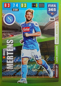 2020 FIFA 365 POWER UP GAME CHANGERS Dries Mertens #368