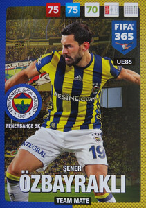 UPDATE 2017 FIFA 365 TEAM MATE SENER OZBAYRAKLI #86