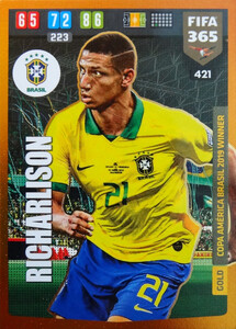 FIFA 365 2020 GOLD Copa America Brasil 2019 WINNER Richarlison #421