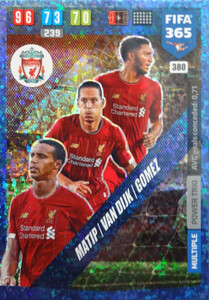 2020 FIFA 365 MULTIPLE  TRIO Joel Matip / Virgil van Dijk / Joe Gomez #380