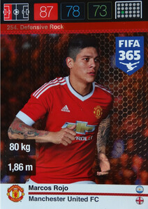 2016 FIFA 365 DEFENSIVE ROCK Marcos Rojo #254