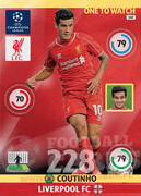 2014/15 CHAMPIONS LEAGUE® ONE TO WATCH   Coutinho #160
