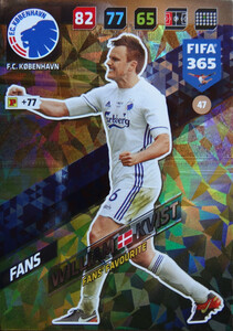 FIFA 365 2018 NORDIC FANS' FAVOURITE William Kvist #47