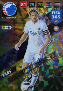 FIFA 365 2018 NORDIC FANS' FAVOURITE Mikael Antonsson #48
