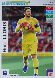 ROAD TO EURO 2020 TEAM MATE Hugo Lloris 73