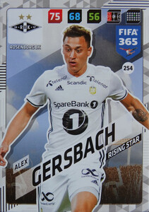 FIFA 365 2018 NORDIC TEAM MATE  Alex Gersbach #254