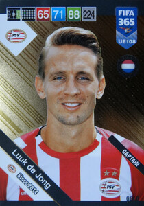 2019 FIFA 365 UPDATE CAPTAINS  Luuk de Jong #108