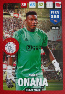 UPDATE 2017 FIFA 365 TEAM MATE ANDRE ONANA #65