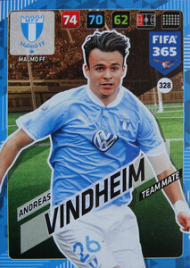 FIFA 365 2018 NORDIC TEAM MATE Andreas Vindheim #328