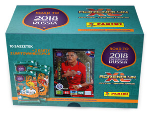 ROAD TO RUSSIA 2018 GIFT BOX Limited Alexis Sanchez