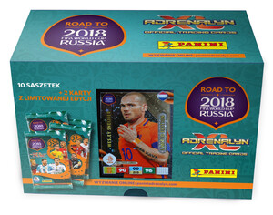 ROAD TO RUSSIA 2018 GIFT BOX Limited Wesley Sneijder
