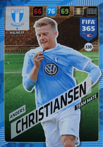 FIFA 365 2018 NORDIC  RISING STAR Anders Christiansen #330