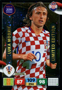 ROAD TO RUSSIA 2018 LIMITED Luka Modric