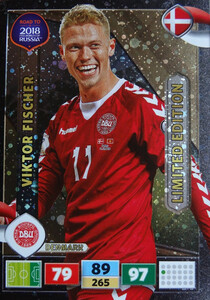 ROAD TO RUSSIA 2018 LIMITED Viktor Fischer