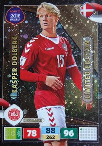 ROAD TO RUSSIA 2018 LIMITED Kasper Dolberg