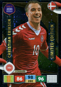 ROAD TO RUSSIA 2018 LIMITED Christian Eriksen
