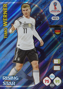 WORLD CUP RUSSIA 2018 RISING STAR WERNER 425