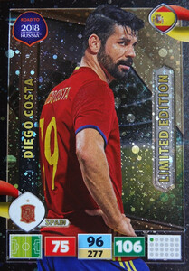 ROAD TO RUSSIA 2018 LIMITED Diego Costa