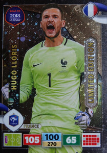 ROAD TO RUSSIA 2018 LIMITED Hugo Lloris