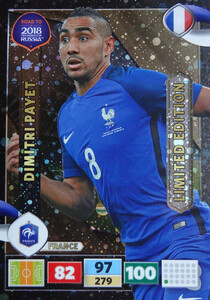 ROAD TO RUSSIA 2018 LIMITED Dimitri Payet