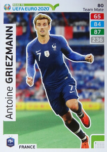 ROAD TO EURO 2020 TEAM MATE Antoine Griezmann 80