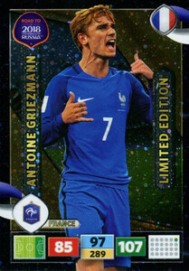 ROAD TO RUSSIA 2018 LIMITED 	Antoine Griezmann