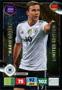 ROAD TO RUSSIA 2018 LIMITED Mario Gotze