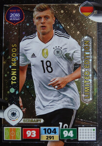 ROAD TO RUSSIA 2018 LIMITED Toni Kroos