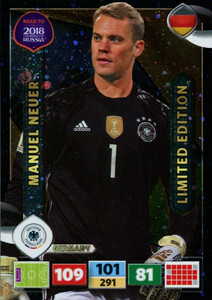 ROAD TO RUSSIA 2018 LIMITED Manuel Neuer