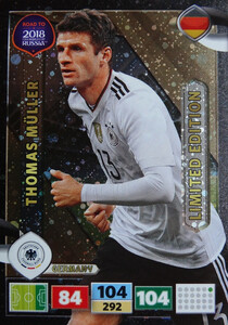 ROAD TO RUSSIA 2018 LIMITED Thomas Muller