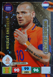 ROAD TO RUSSIA 2018 LIMITED Wesley Sneijder