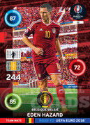 ROAD TO EURO 2016 TEAM MATE Eden Hazard  #32