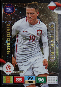 ROAD TO RUSSIA 2018 LIMITED Piotr Zielinski