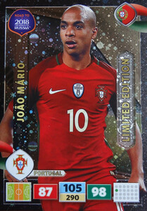 ROAD TO RUSSIA 2018 LIMITED Joao Mario