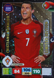 ROAD TO RUSSIA 2018 LIMITED Cristiano Ronaldo