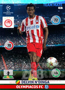 2014/15 CHAMPIONS LEAGUE® TEAM MATE Delvin N'Dinga #195