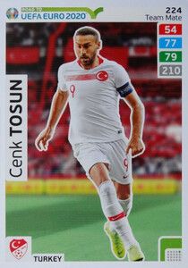 ROAD TO EURO 2020 TEAM MATE Cenk Tosun 224