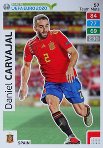 ROAD TO EURO 2020 TEAM MATE Daniel Carvajal 57