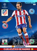 2014/15 CHAMPIONS LEAGUE® TEAM MATE Juanfran #57