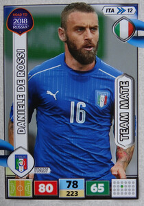 ROAD TO RUSSIA 2018 TEAM MATE WŁOCHY DE ROSSI 12