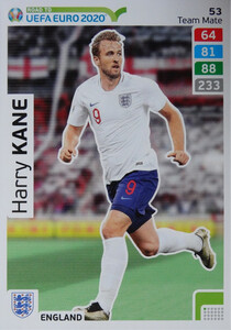 ROAD TO EURO 2020 TEAM MATE  Harry Kane 53